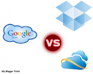 Google Drive vs SkyDrive vs DropBox: Features Comparison