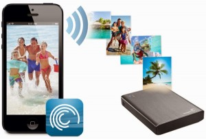 Seagate enhanced Wireless Plus with cloud backup