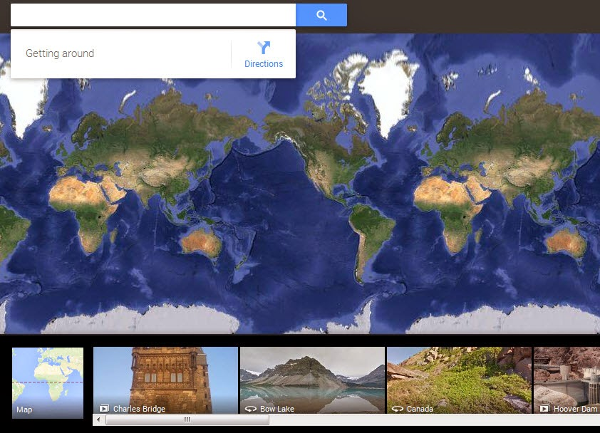 Explore the Moon and Mars in Google Maps