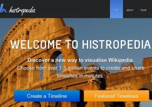Create timelines from Wikipedia articles