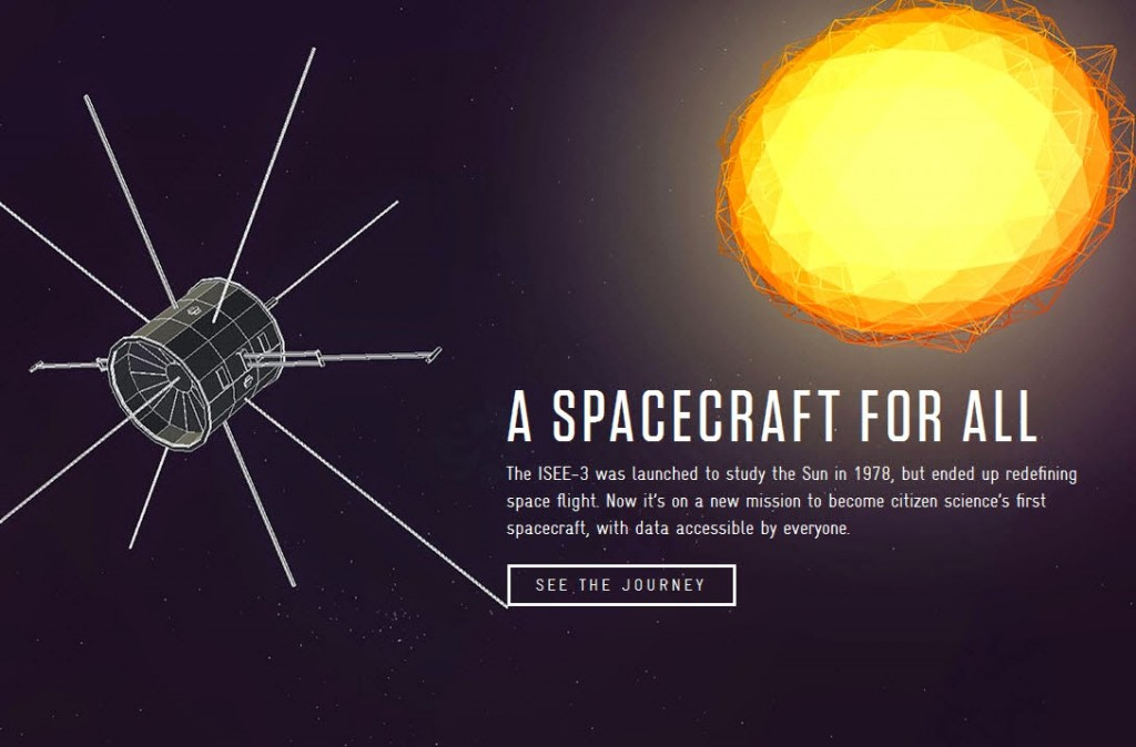 Follow the ISEE-3 spacecraft