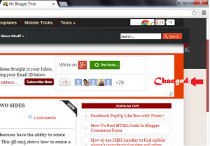 How To Change Scrollbar Color With CSS3 in Blogspot
