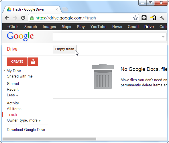 How To Delete Items From Google Drive How to delete files