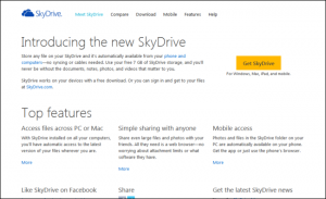 SkyDrive: Free cloud storage from Microsoft