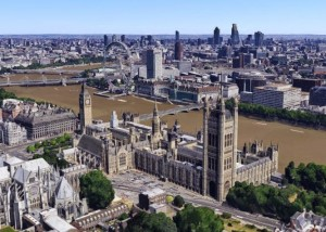 Explore London in 3D in Google Maps