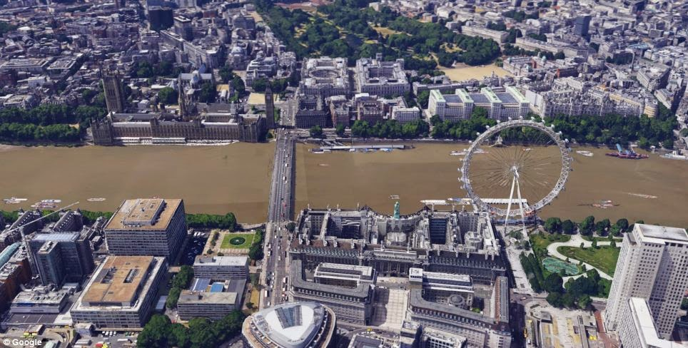 Explore London In D In Google Maps Cloud Media News - Google maps aerial view