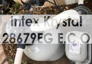 Intex Krystal Clear 2150 GPH Sand Filter Pump and Saltwater System with E.C.O Review