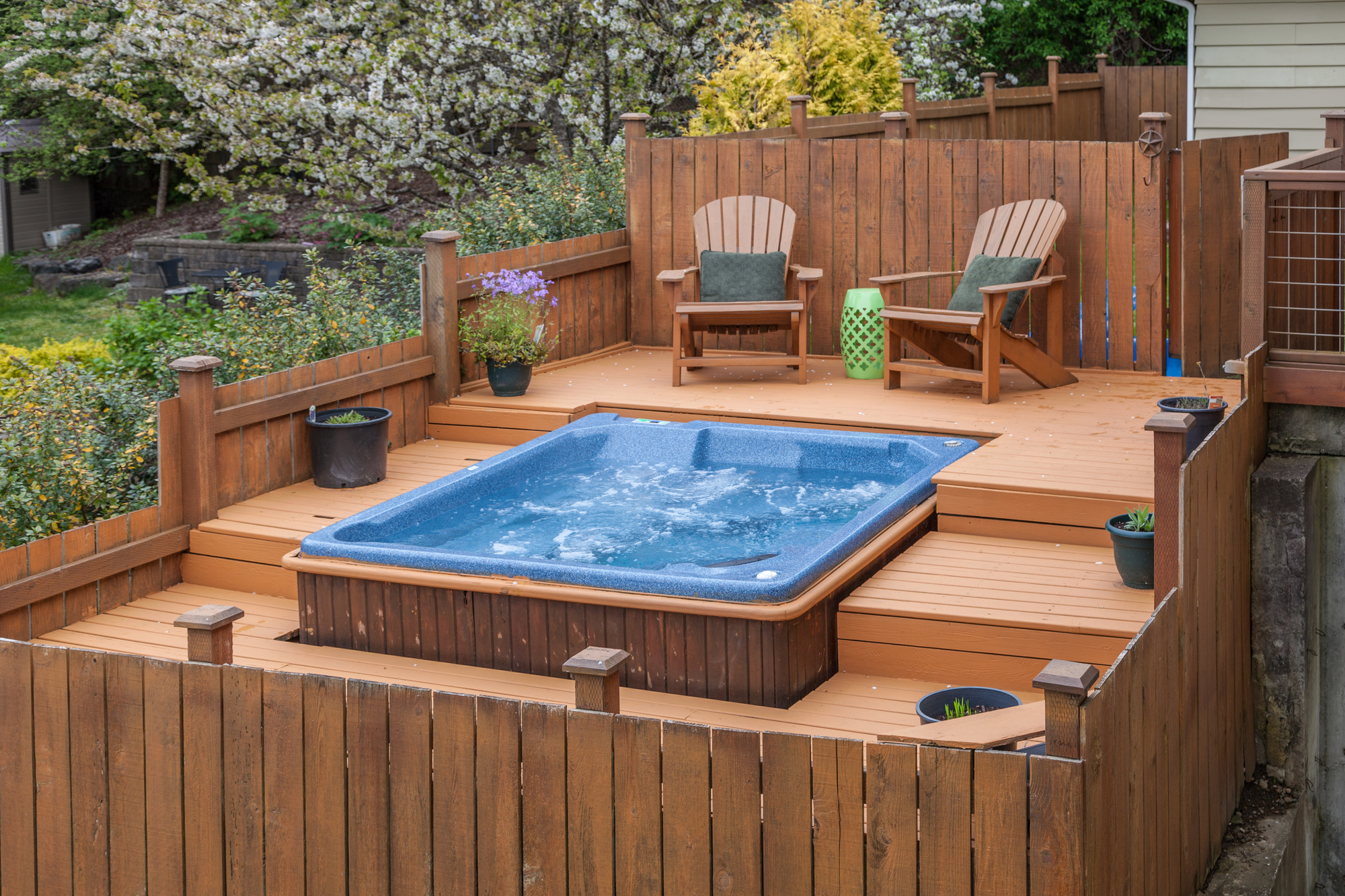 Installing An Outdoor Hot Tub Considerations