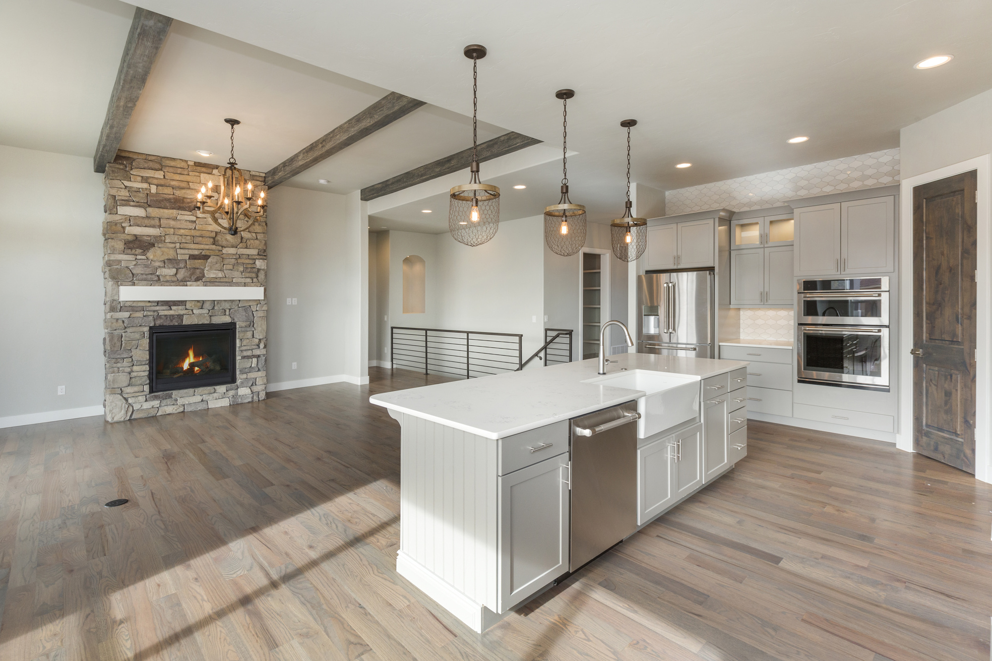 lovely open concept kitchen living room floor plans | 5 Reasons to Love Open Concept Homes